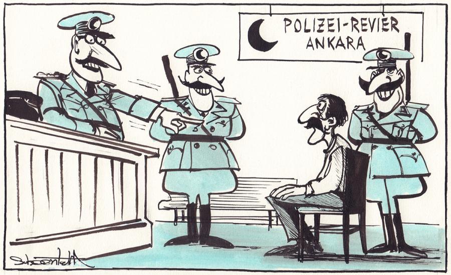 10 Schläge wegen der Lüge, hier würde gefoltert werden! - 1986 - Karl-Heinz Schoenfeld